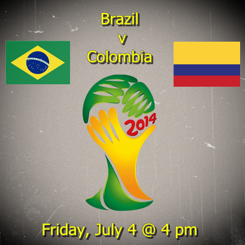 Brazil vs Colombia Quarterfinals World Cup Preview