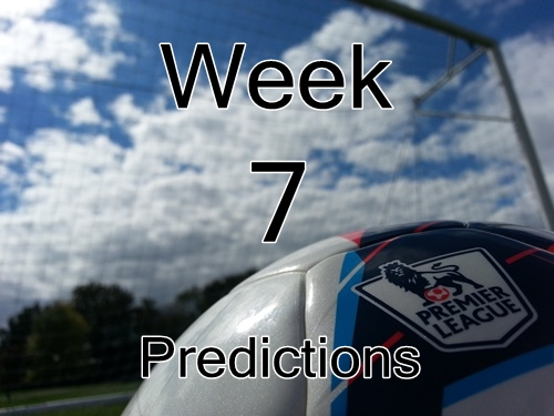 Match Week 7 Premier League Predictions