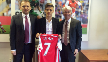 Vlad Dragomir Signs for Arsenal