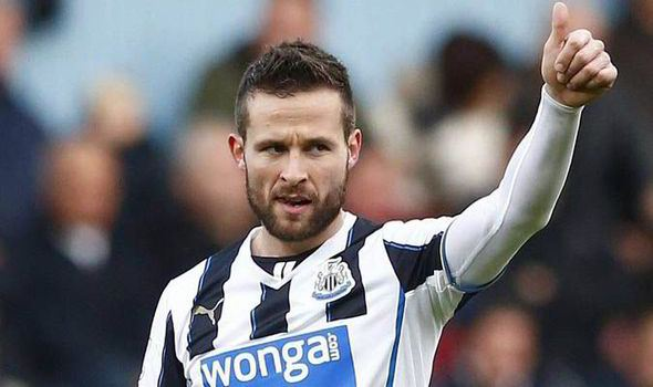 Crystal Palace Sign Yohan Cabaye