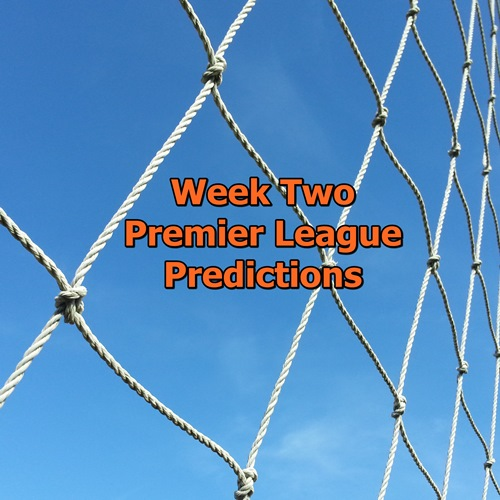 week 2 Premier League predictions