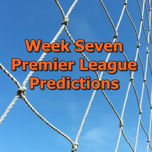 Week 7 Premier League Predictions