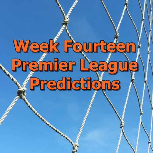 Week 14 Premier League predictions