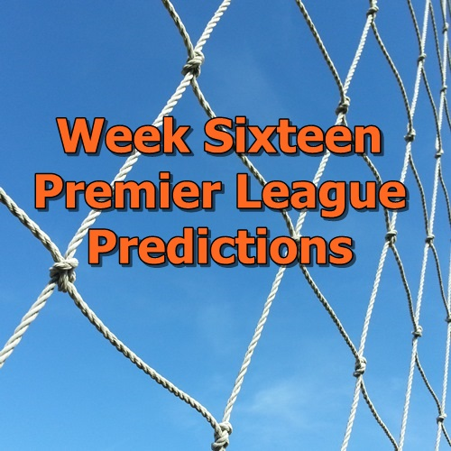week 16 premier league predictions